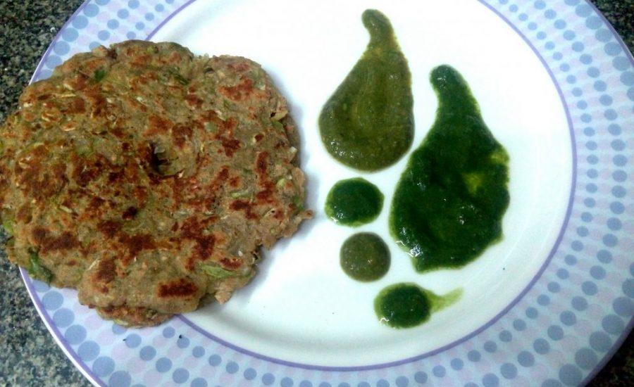 Farhali Lauki Thalipeeth Recipe