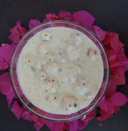 Phool Makhane Ki Kheer Recipe
