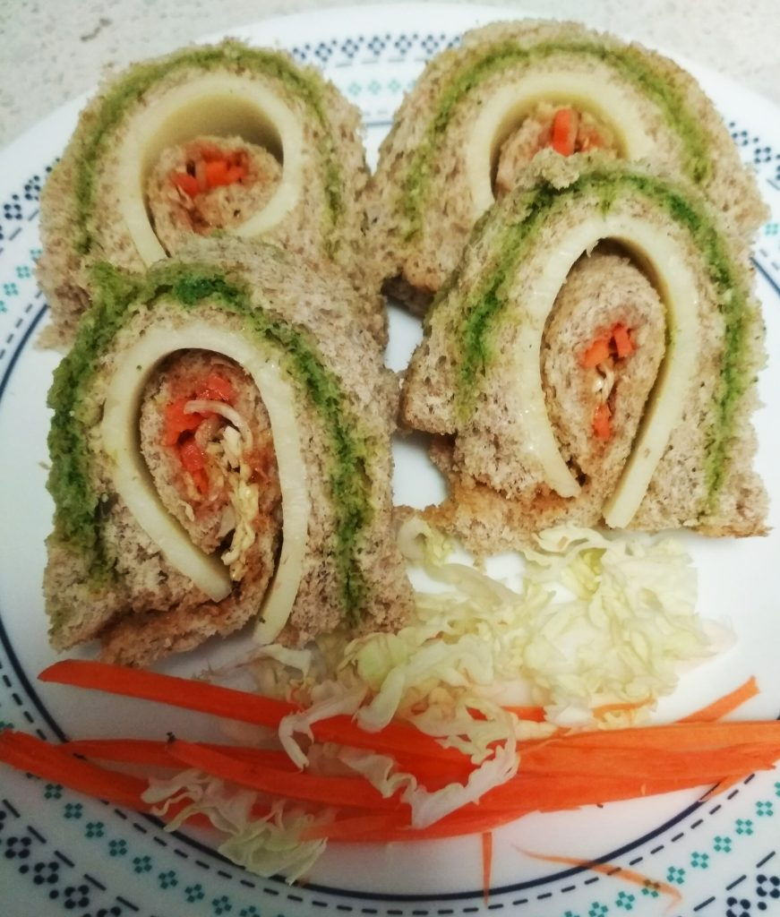 Pinwheel Sandiwches Recipe