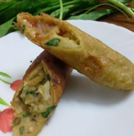Stuffed Potato Sticks Recipe