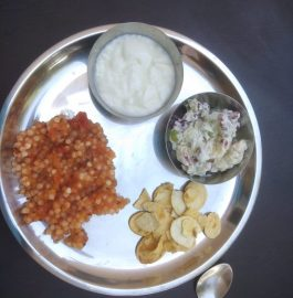 Thali For Fast Recipe