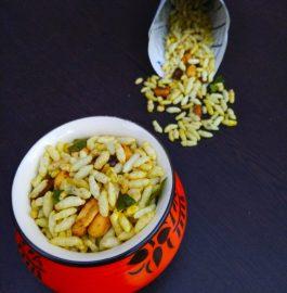 Murmura Namkeen Recipe