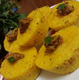 Idli Muffins Recipe