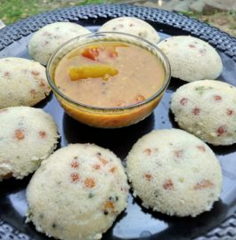 Instant Tadka Idli Recipe