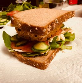 Mixed Lentil Patty Sandwich Recipe