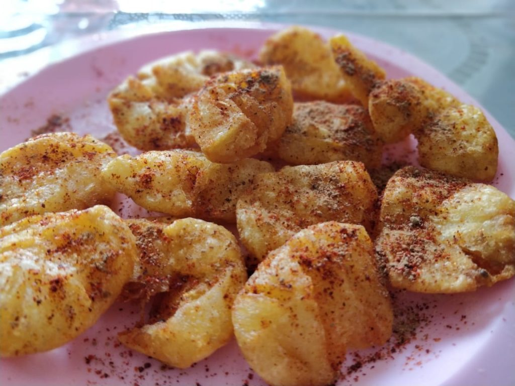 Aloo Tuk Recipe