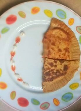 Pizza Pocket Paratha Recipe