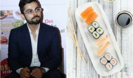 Kohli. Dhoni and cricketers favorite food