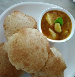 Ajwain Pooris With Aloo Ki Sabzi Recipe