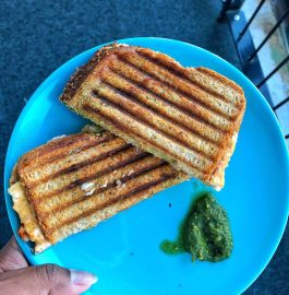 Bombay Masala Grilled Sandwich Recipe