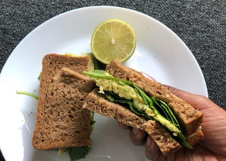 Chickpea And Avocado Sandwich Recipe