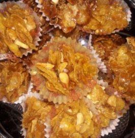 Cornflakes Honey Cupcakes Recipe