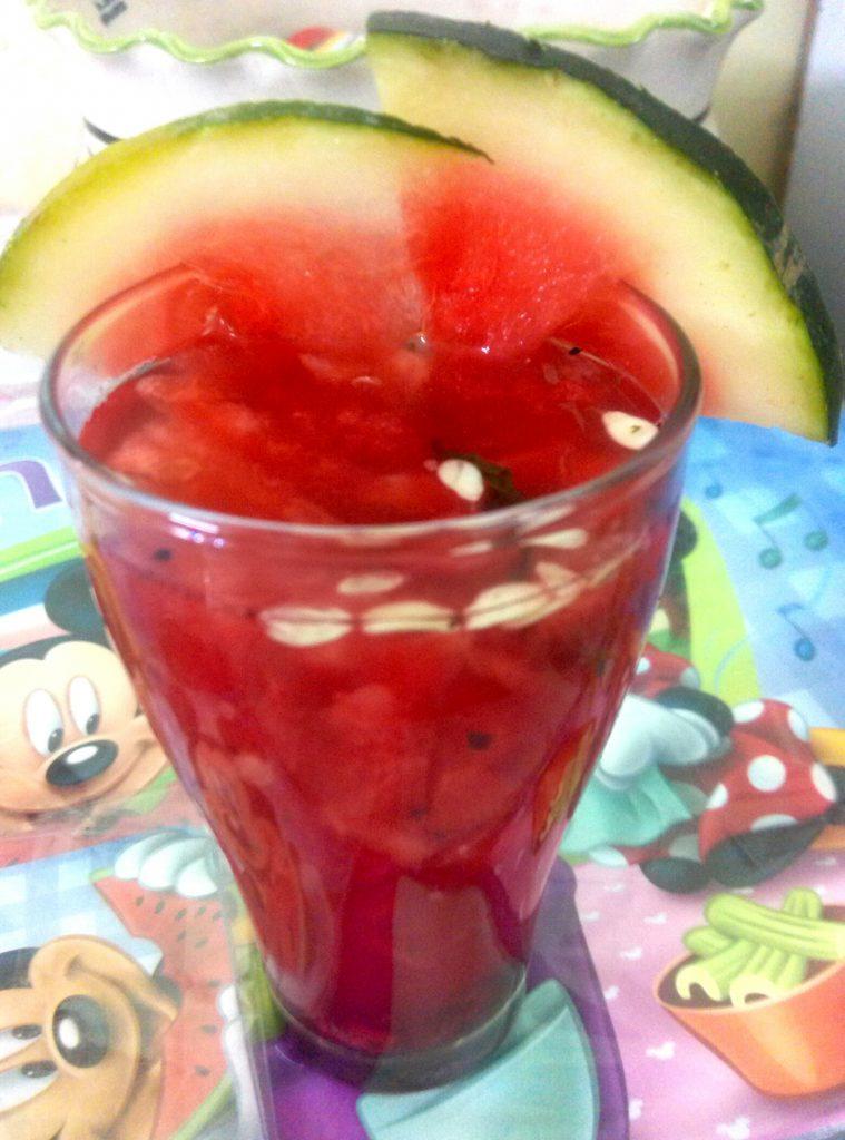 Watermelon Buransh Red Agua Fresca Recipe