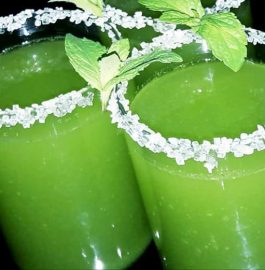 Mint Flavoured Summer Drink Recipe