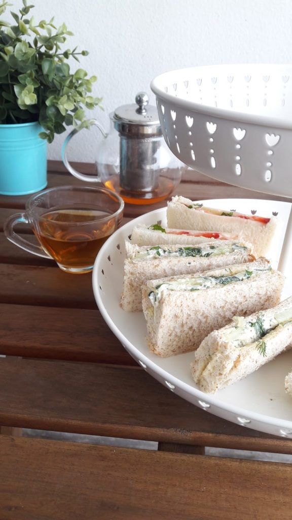 Cucumber Dill Sandwich And English Tea Recipe