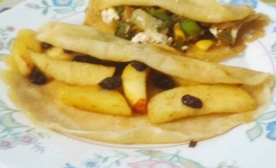Eggless French Crepes | Sweet And Savory Recipe