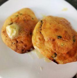 Cheese Corn Bread Biscuits Recipe