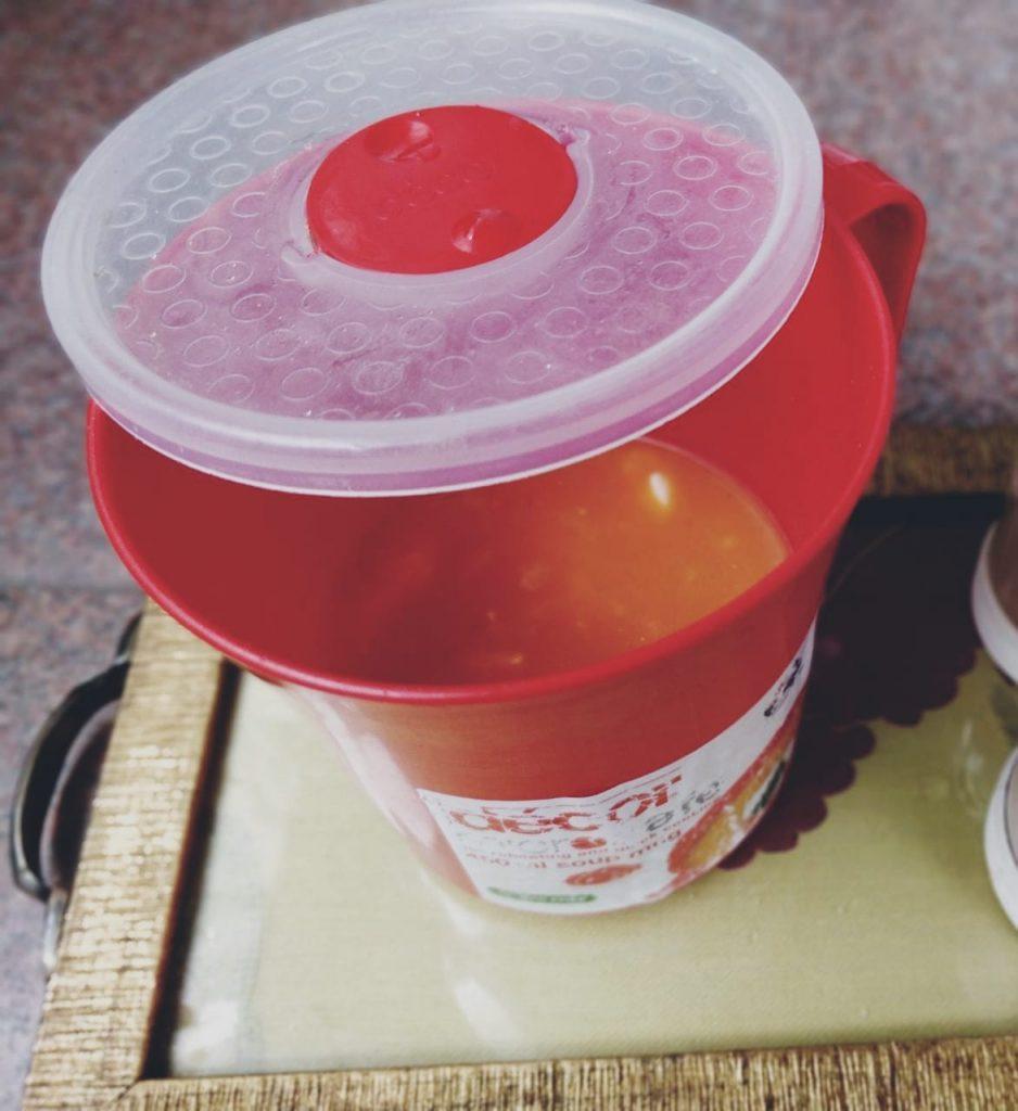 Cream Of Tomato Soup | 5 Minute Microwave Recipe