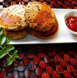 Rawa Idli | Instant Crispy Pan Idli Recipe