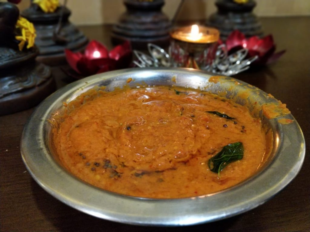 Tomato Chutney | South Indian Style Recipe