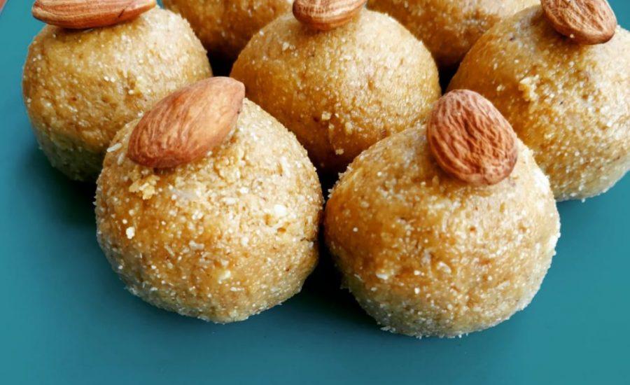 Besan Sooji Laddoo Recipe