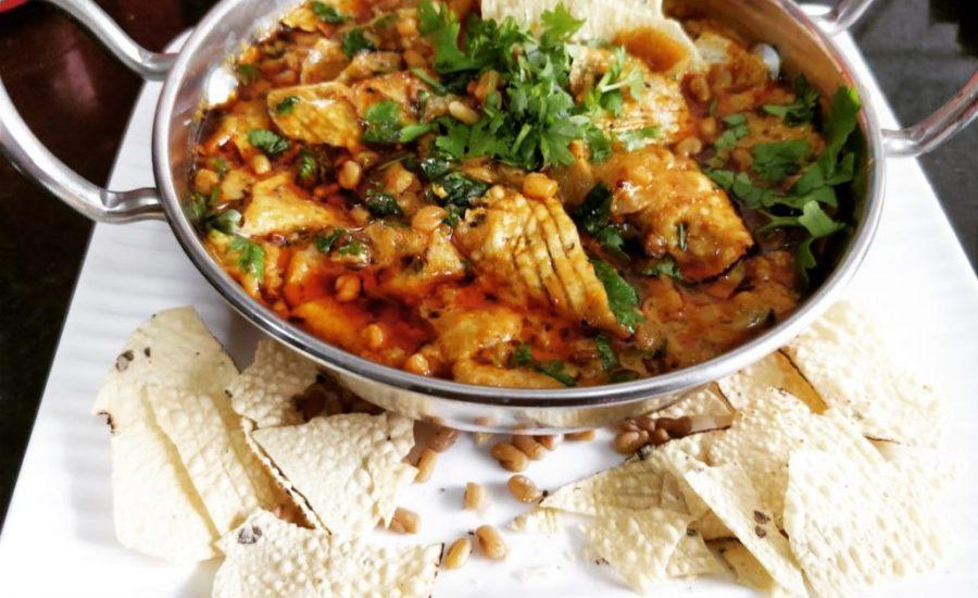 Danamethi Papad Ki Sabzi Recipe