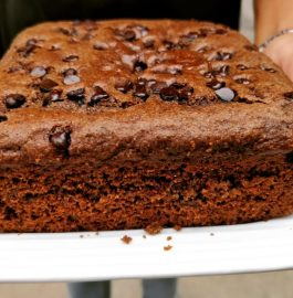 Whole Wheat Chocolate Cake | Eggless Recipe