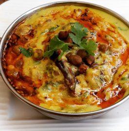 Chana Kadhi - Jaisalmer Style Recipe