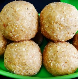 Oats Laddoo Recipe