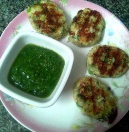 Paneer Aloo Veggie Pattice Recipe