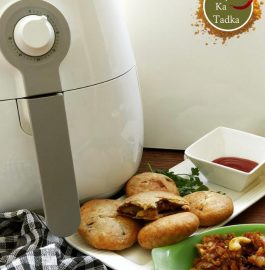 Pyaaz Ki Kachori - Air Fryer Recipe