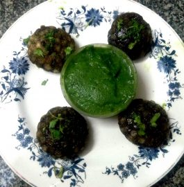 Sago Spinach Appam Recipe