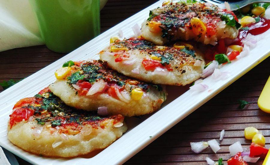 Sooji Mini Uttapam Recipe