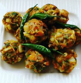 Veg Pakoda – Whole Wheat (without Frying) Recipe