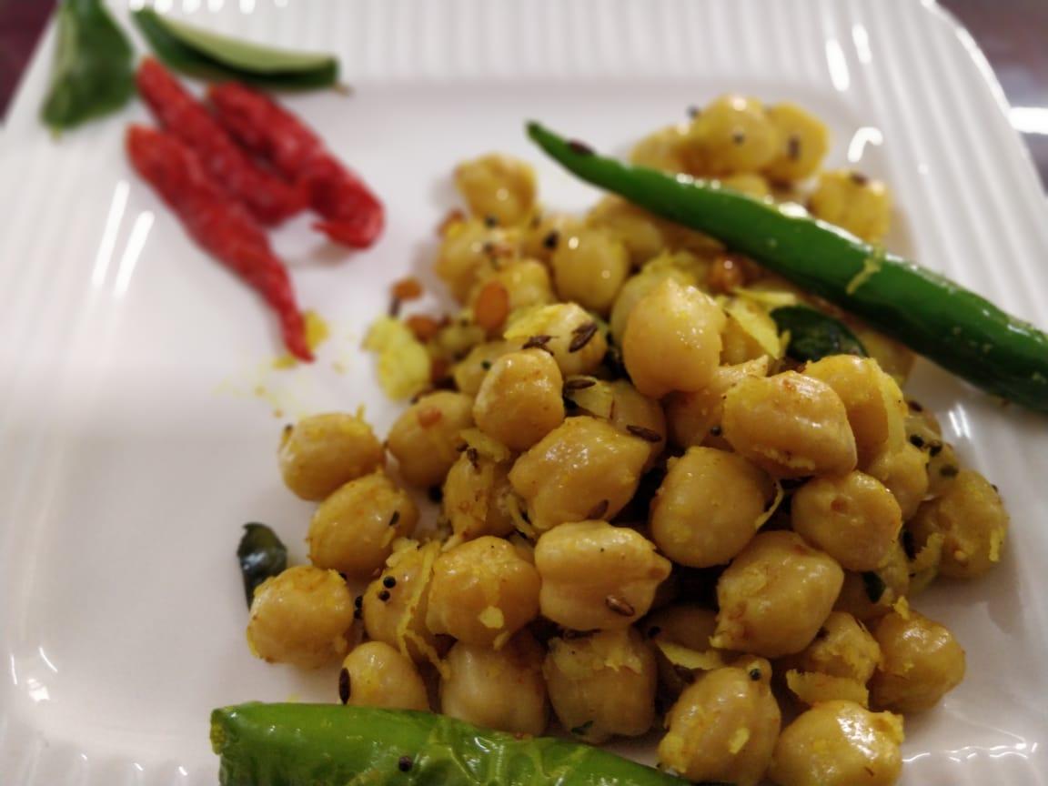 Chickpea Sundal Recipe