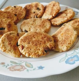 Rajgira Carrot Cookies Recipe