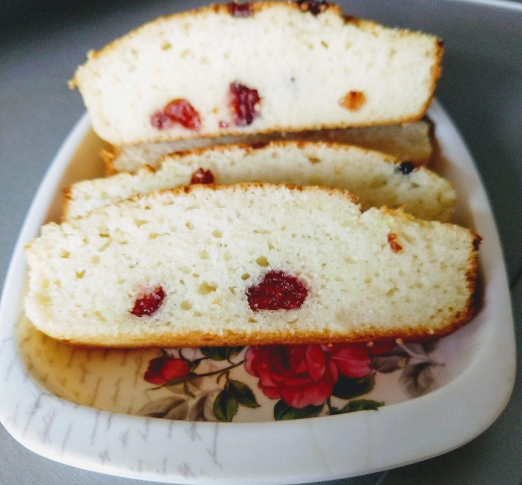 Cranberry Malai Cake Recipe