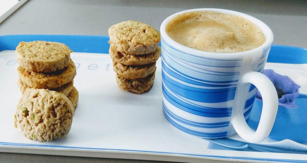Elaichi Pistachio Biscuits Recipe