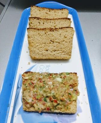Wheat Bread With Guacamole - Homemade Recipe